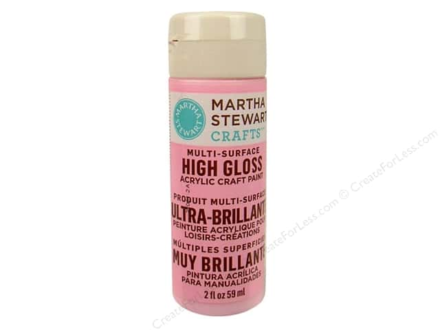 Martha Stewart Craft Paint by Plaid Gloss Poodle Skirt 2 oz.