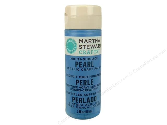 Martha Stewart Craft Paint by Plaid Pearl Gazing Ball 2oz