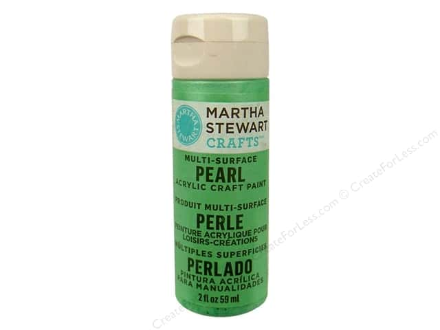 Martha Stewart Craft Paint by Plaid Pearl Mint Chip 2 oz.