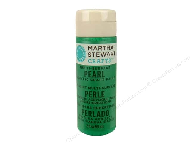 Martha Stewart Craft Paint by Plaid Pearl Hummingbird 2oz