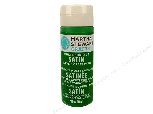 Martha Stewart Craft Paint by Plaid Satin Pesto 2 oz.
