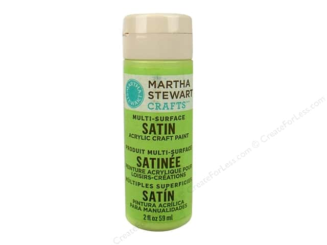 Martha Stewart Craft Paint by Plaid Satin Scallion 2 oz.