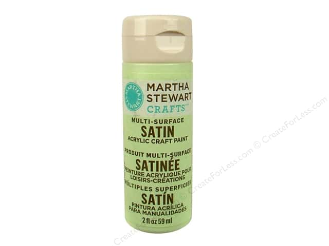 Martha Stewart Craft Paint by Plaid Satin Artichoke 2oz
