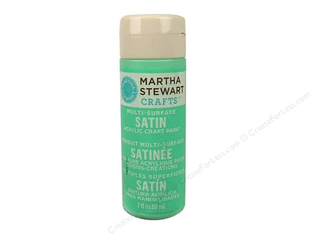 Martha Stewart Craft Paint by Plaid Satin Beach Glass 2 oz.