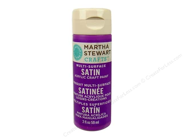 Martha Stewart Craft Paint by Plaid Satin Pacific Iris 2 oz.