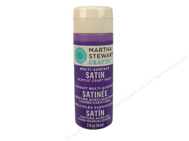 Martha Stewart Craft Paint by Plaid Satin Heliotrope 2 oz.