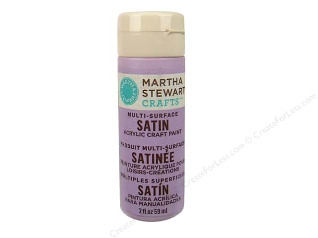 Martha Stewart Craft Paint by Plaid Satin Hailstorm 2oz