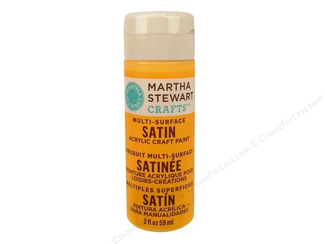 Martha Stewart Craft Paint by Plaid Satin Cantaloupe 2oz