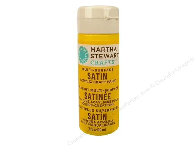 Martha Stewart Craft Paint by Plaid Satin Rubber Ducky 2oz