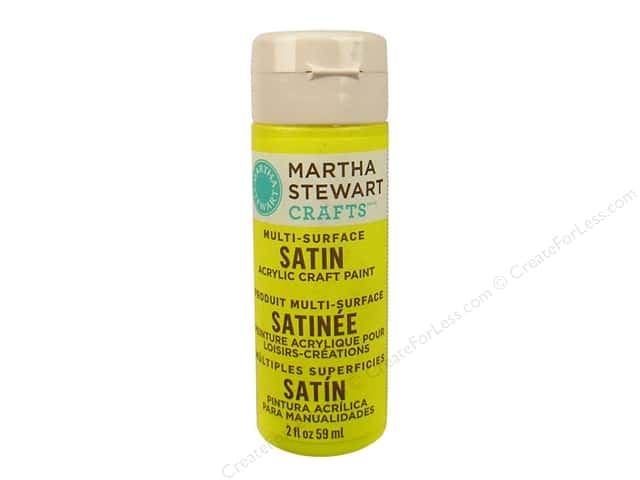 Martha Stewart Craft Paint by Plaid Satin Meadowlark 2 oz.