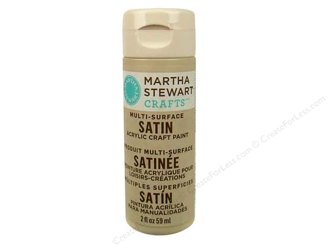 Martha Stewart Craft Paint by Plaid Satin Putty 2oz