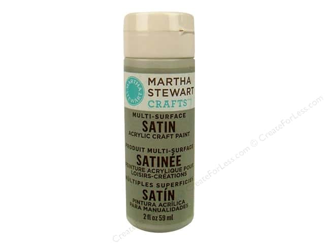 Martha Stewart Craft Paint by Plaid Satin Wet Cement 2 oz.