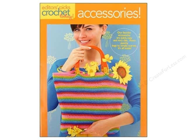 Coats & Clark Books Editor's Picks Crochet Accessories Book