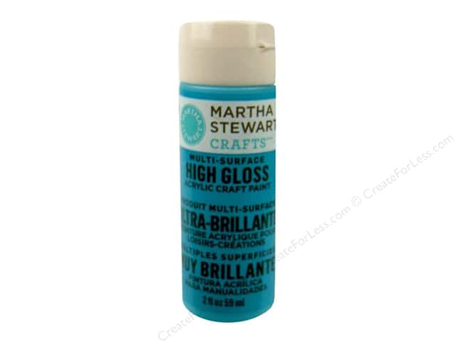Martha Stewart Craft Paint by Plaid Gloss Pond 2oz