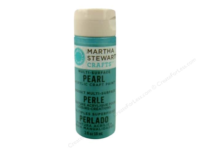 Martha Stewart Craft Paint by Plaid Pearl Aquarium 2 oz.