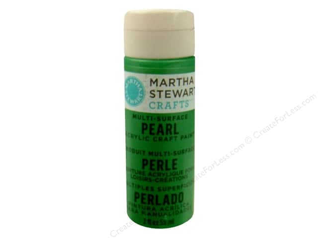 Martha Stewart Craft Paint by Plaid Pearl Putting Green 2oz