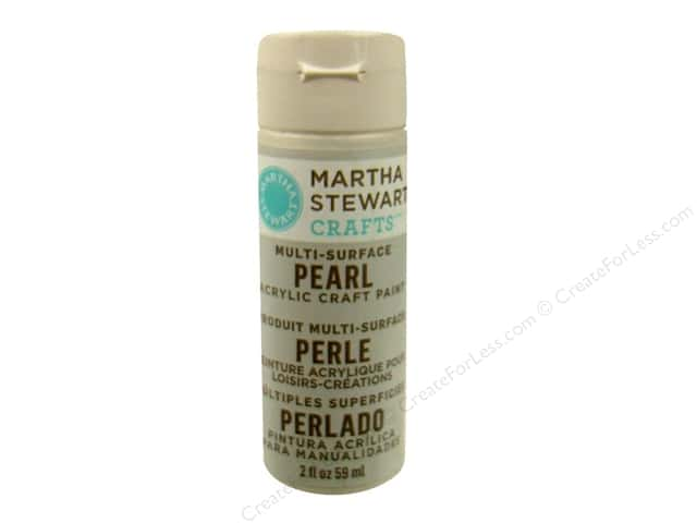 Martha Stewart Craft Paint by Plaid Pearl Mother of Pearl 2 oz.