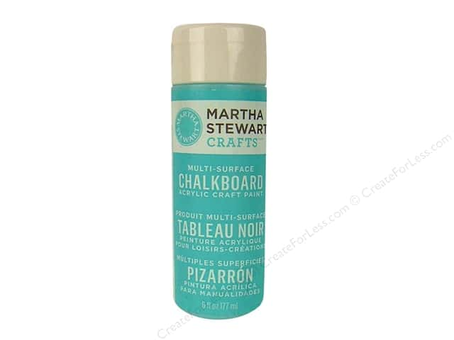 Martha Stewart Craft Paint by Plaid Chalkboard Blue 6oz