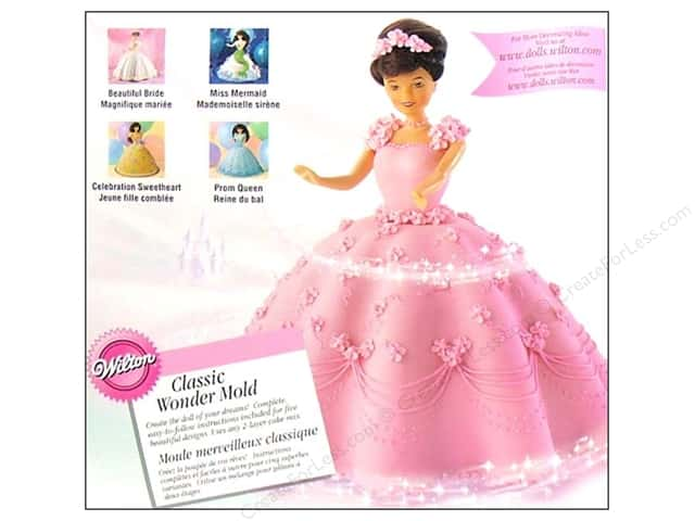 Wilton Classic Wonder Mold Kit Doll