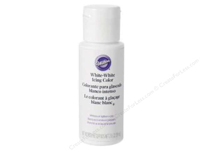Wilton Decorating Color Icing White-White 2oz