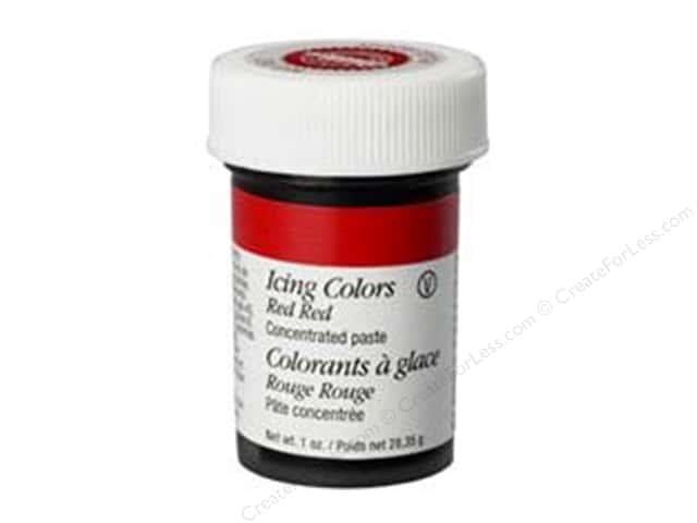 Wilton Decorating Color Icing Red-Red 1oz