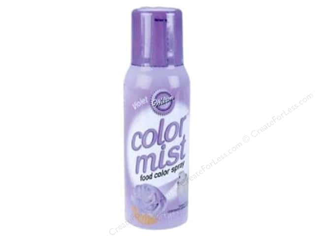 Wilton Decorating Color Mist Food Spray Violet 1.5oz