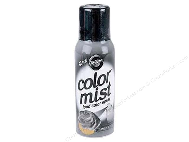 Wilton Decorating Color Mist Food Spray Black 1.5oz