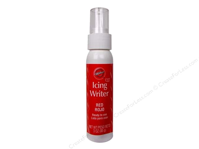 Wilton Icing Writer Red 3oz