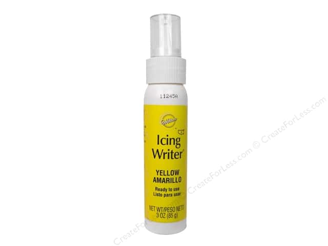 Wilton Icing Writer Yellow 3oz