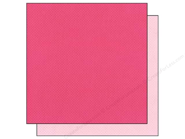 "Bazzill Cardstock 12""x 12"" 25pc TwoScoops Very Berry"