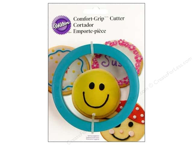 Wilton Cookie Cutter Comfort Grip Round