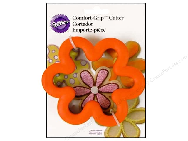 Wilton Cookie Cutter Comfort Grip Flower