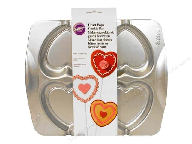 Wilton Cookie Pan Heart Pops
