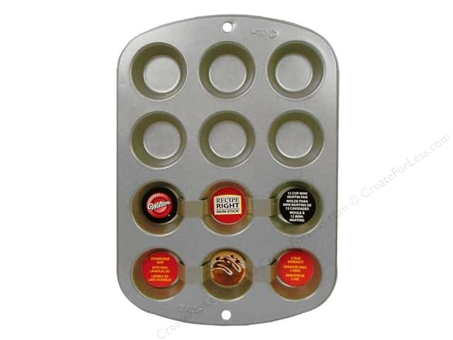 Wilton Recipe Right Mini Muffin Pan 12 Cup
