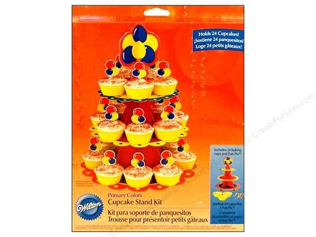 Wilton Cupcake Stand Kit Primary Colors