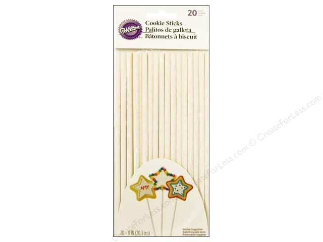 Wilton Cookie Treat Sticks 8 in. 20 pc.