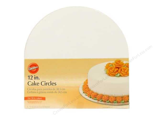 "Wilton Decorations Cake Circles 12"" 8pc"
