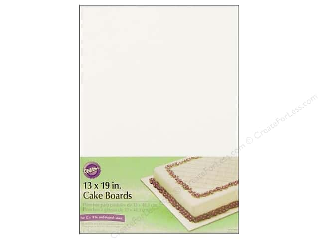 "Wilton Decorations Cake Board 13x19"" 6pc"