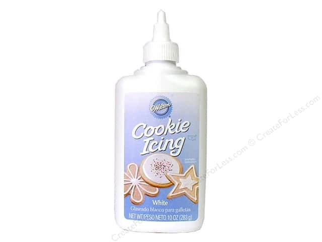 Wilton Edible Decorations Cookie Icing White 10oz