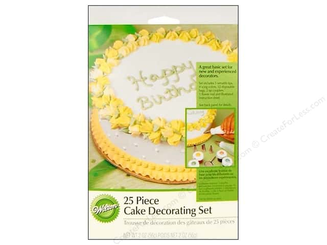Wilton Tools Cake Decorating Set 25pc