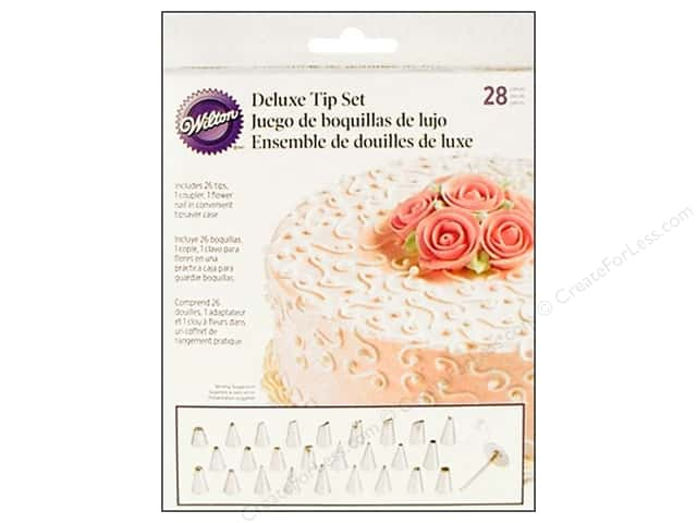 Wilton Tools Cake Decorating Tip Set Deluxe 28pc