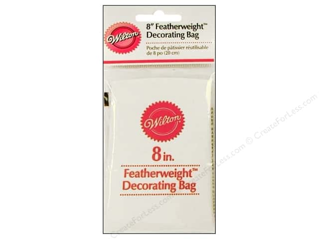 Wilton Featherweight Cake Decorating Bags : Wilton Cake Decorating Bag Featherweight 8
