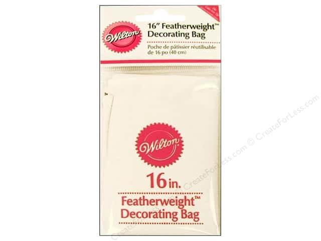 Wilton Tools Cake Decorating Bag Featherweight 16""