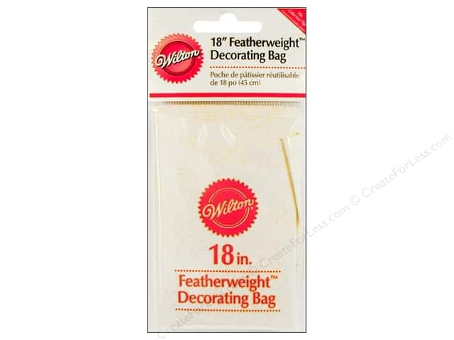 Wilton Featherweight Cake Decorating Bags : Wilton Cake Decorating Bag Featherweight 18