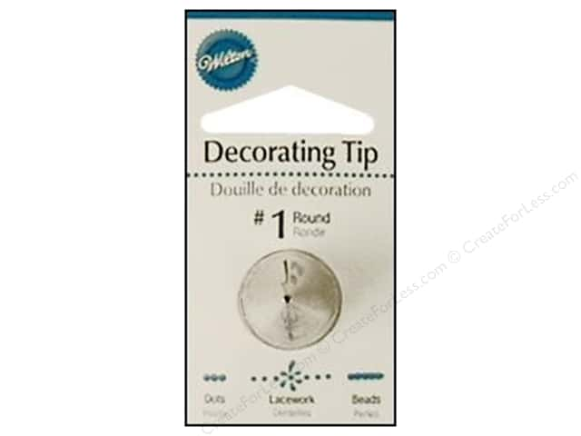 Wilton Tools Cake Decorating Tip Round #1