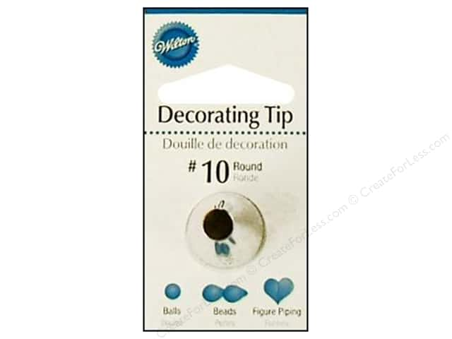 Wilton Cake Decorating Tip Numbers : CreateForLess -- CreateForLess
