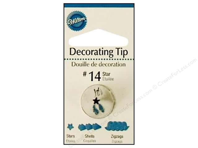 Wilton Tools Decorating Tip Open Star #14