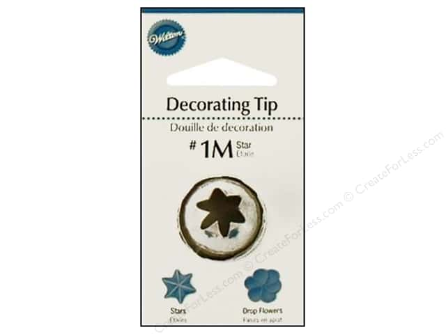 Wilton Tools Decorating Tip Open Star #1M