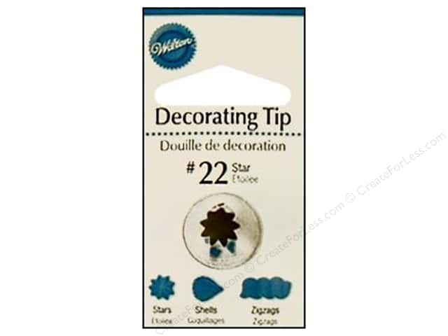 Wilton Tools Decorating Tip Open Star #22