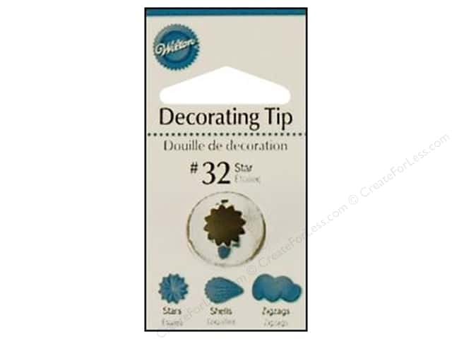 Wilton Tools Decorating Tip Open Star #32